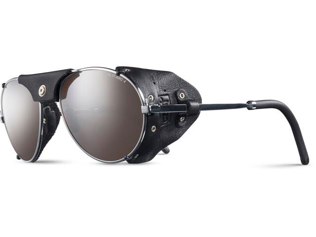 Julbo Cham Alti Arc 4+ Sunglasses Chrome/Black-Brown Flash Silver